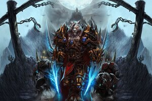 World Of Warcraft Worgen Character
