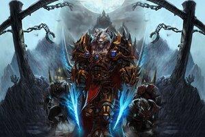 World Of Warcraft Worgen Character Wallpaper