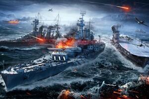 World Of Warships 4k