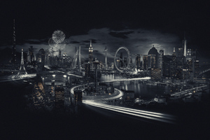 World Skylines Wallpaper