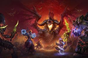 World War Warcraft Game 4k