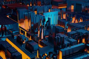 Worldboard City 4k Wallpaper