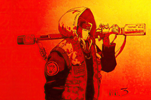 Wouter Gort Cyberpunk Cyborg 4k