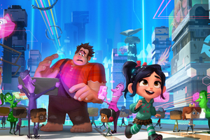 Wreck It Ralph 2 2018 Movie 4k
