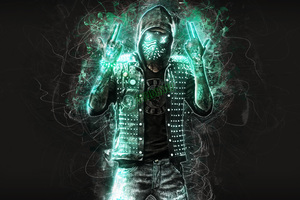 Wrench Watch Dogs 2 Fan Art Wallpaper