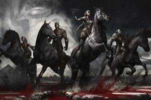 X Men Apocalypse Ancient Horsemen 4k