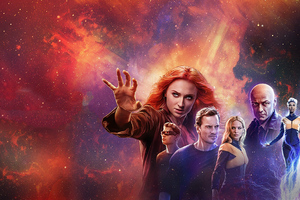 X Men Dark Phoenix 4k 2019 Poster Wallpaper