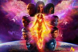 X Men Dark Phoenix 4k Artworks