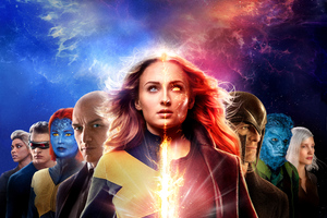 X Men Dark Phoenix 8k Wallpaper