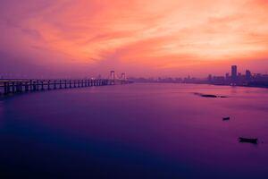 Xinghai Bridge Wallpaper