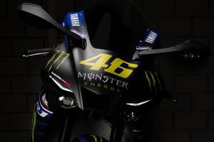 Yamaha R1 Valentino Rossi Bike 5k Wallpaper