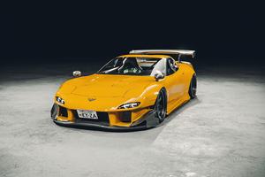 Yellow Corvette C5