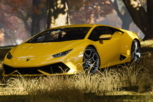 Yellow Lamborghini 4k New Wallpaper