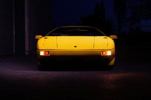 Yellow Lamborghini Diablo 5k Wallpaper