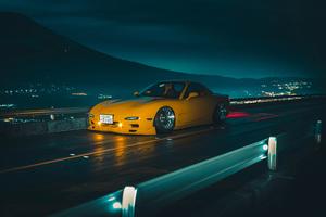 Yellow Mazda 4k Wallpaper