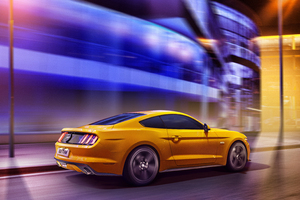 Yellow Mustang 5k 2019 Wallpaper