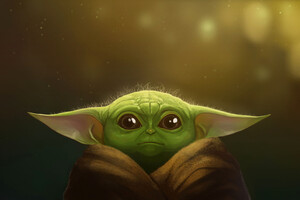 Yoda Art Wallpaper