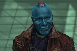 Yondu Guardians Of The Galaxy Vol 2 Artwork
