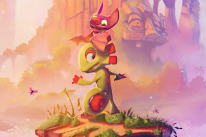 Yooka Laylee 2017 Wallpaper