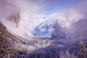 Yosemite After A Winter Storm 5k Wallpaper