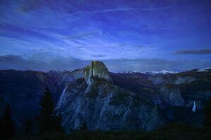 Yosemite Dusk 5k Wallpaper