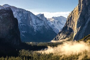 Yosemite Mountains National Park Wallpaper