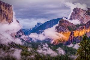 Yosemite National Park Clouds