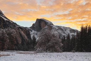 Yosemite Sunrise Wallpaper