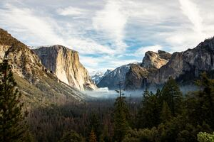 Yosemite Valley Beautiful View Wallpaper