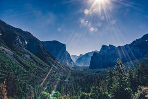 Yosemite Valley Landsacpe 5k Wallpaper