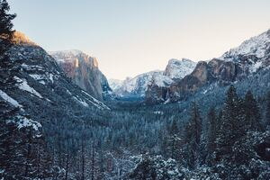 Yosemite Winter 4k