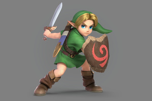 Young Link Super Smash Bros Ultimate 5k