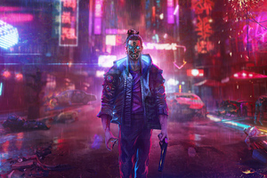 Your Night City Cyberpunk 2077 Illustration 5k