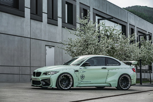 Z Performance BMW M2 2018 4k