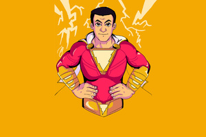 Zachary Levi Shazam Movie 4k Art