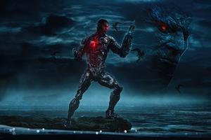Zack Snyders Justice League Cyborg 5k