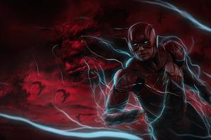 Zack Snyders Justice League Flash 5k