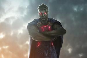 Zack Snyders Justice League Martian Manhunter 4k