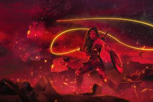 Zack Snyders Justice League Wonder Woman Poster 5k Wallpaper