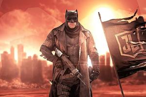 Zack Synders Justice League Batman 4k Wallpaper