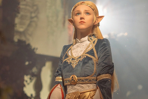 Zelda Cosplay 4k Wallpaper