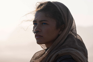 Zendaya As Chani In Dune 2020 Wallpaper