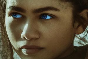 Zendaya As Chani In Dune Movie Wallpaper