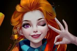 Zoe League Of Legends Game