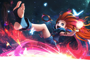 Zoe League Of Legends Hd