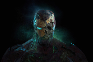 Zombie Iron Man 4k Wallpaper