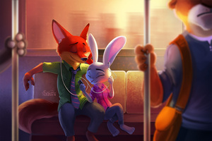 Zootopia Disney Artwork Wallpaper
