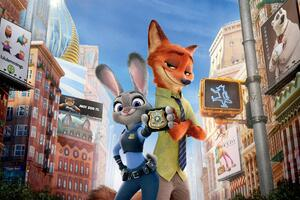 Zootopia Judy Hopps And Nick Wallpaper
