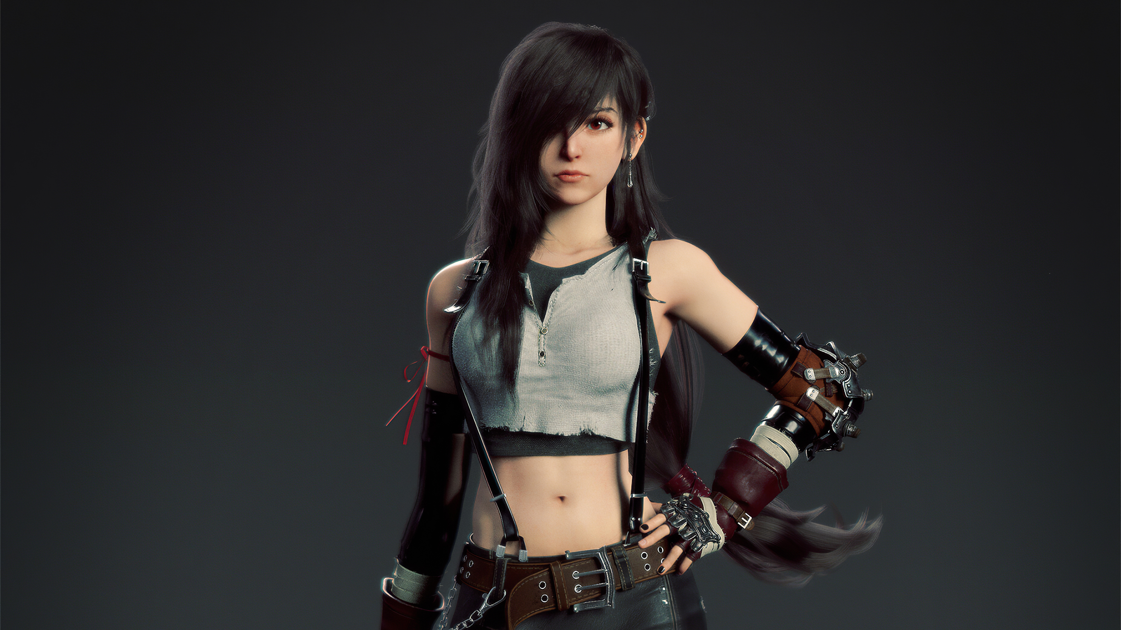 1366x768 Tifa Lockhart Artwork 4k 1366x768 Resolution Hd 4k Wallpapers Images Backgrounds Photos And Pictures