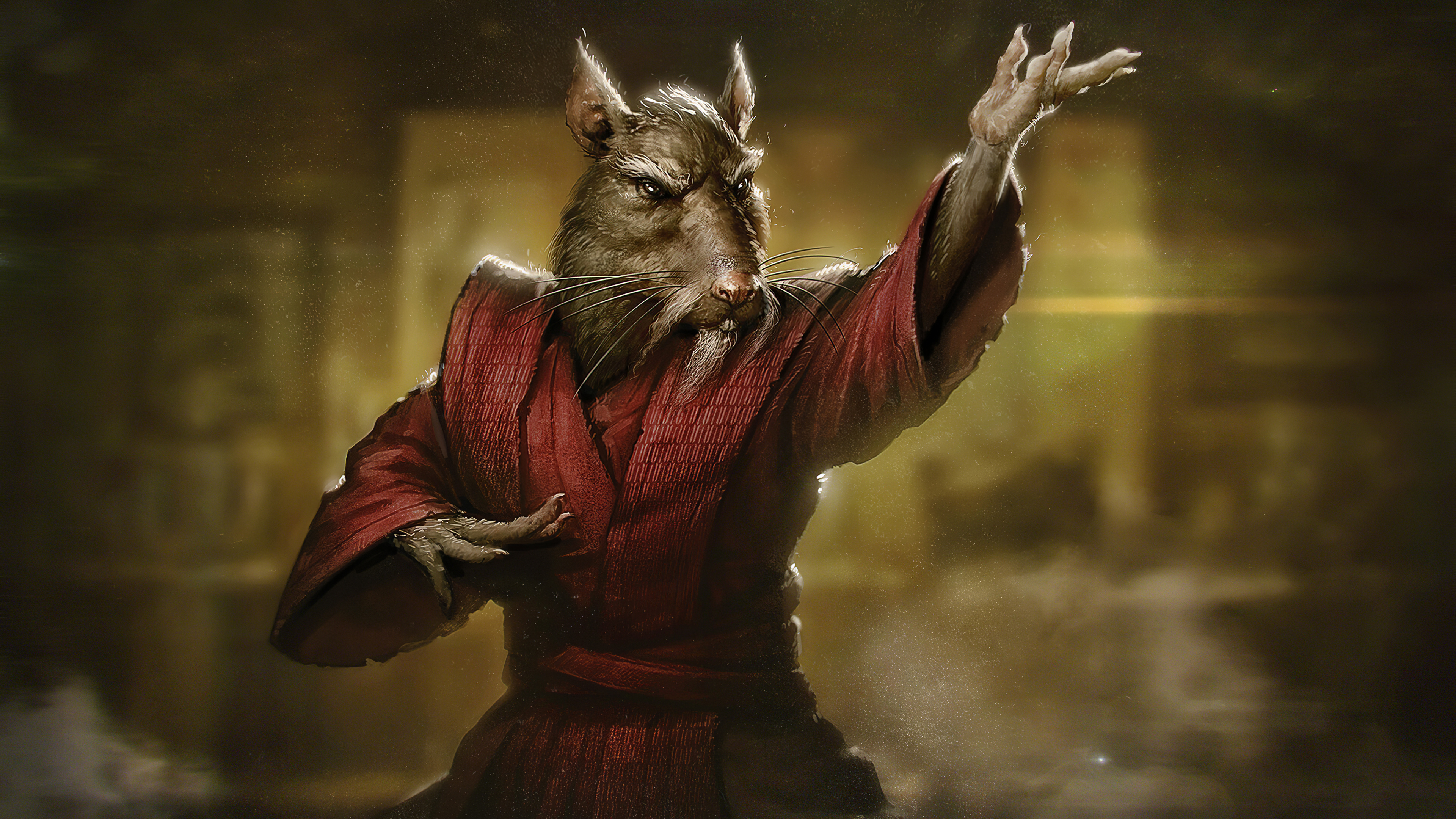 TMNT Master Splinter 4k, HD Superheroes, 4k Wallpapers, Images,  Backgrounds, Photos and Pictures